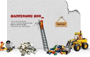 maintenance mode theme
