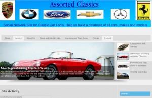 Classic Car social network