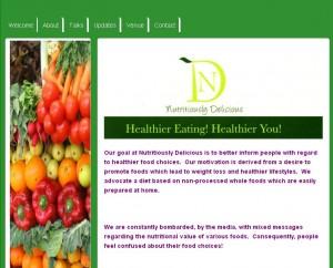 Healthy Food site